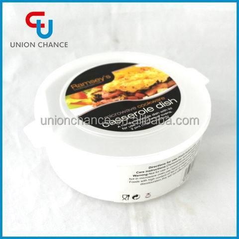 2 PCS Microwave Casserole Dish Plastic Box