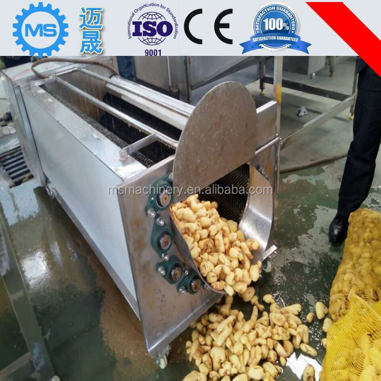2017 hot sale fruit and vegetable brush washing machines