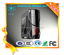 unique design double panels multifunctional Gamer PC case /Full Tower Gaming/High-end Gaming cabinets -K1