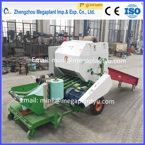 round and square pine straw baler machine for sale