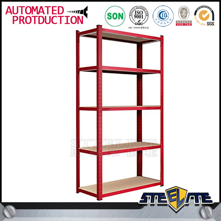 Good quality iron flower pot stand /red goods holder shelf for sale