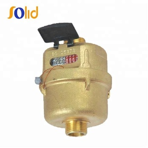 Manufacturer volumetric rotary piston multi jet water meter