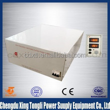 12V 200A High Frequency Switching Rectifier For Electroplate Hard Anodizing