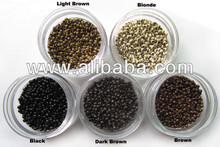 2.5mm Diameter Micro Nano ring of smallest micro beads in the world for nano hair extensions