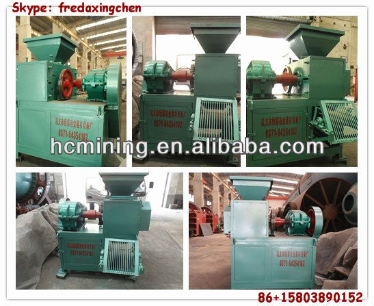 Small lower price four roller 1-2t/h Coal dust briquette machine