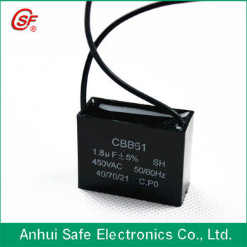 2 wire ceiling fan capacitor cbb61