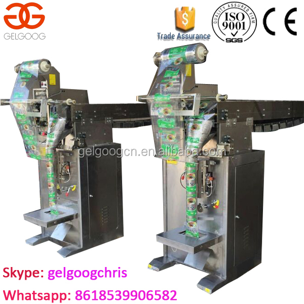 Automatic Vertical Popcorn Puffed Snacks Packing machine