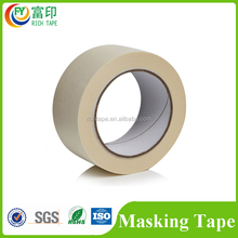 Heat-Resistant Single Sided Crepe Paper Adhesive Masking Tape