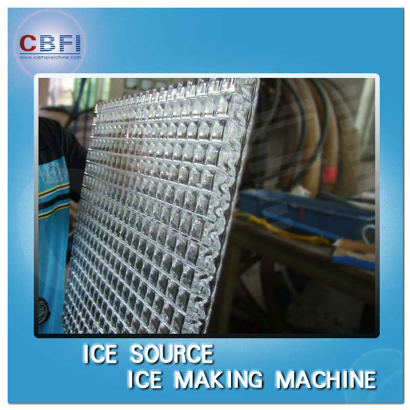 Cube ice machines equipment used in Yemen
