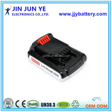 Wholesale OEM 18V Li-ion skillful manufacture rechargeable Power Tools Battery for Black& Decker LBXR20 LB20 LBX20 LCS20