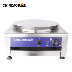 Hot Selling Single Head Commercial Electric Crepe Maker Machine for sale