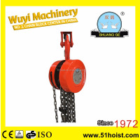 5 Ton HS Type Manual Chain Hoist/Chain block