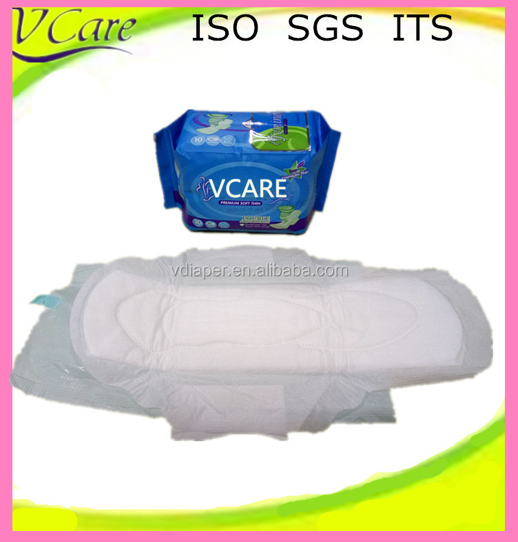Premium soft thin lady cotton sanitary napkin manufacturer in china