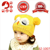 Wholesale patterns hats baby animals knitted free pattern hats for kids Newborn 2014 fashion children hats design