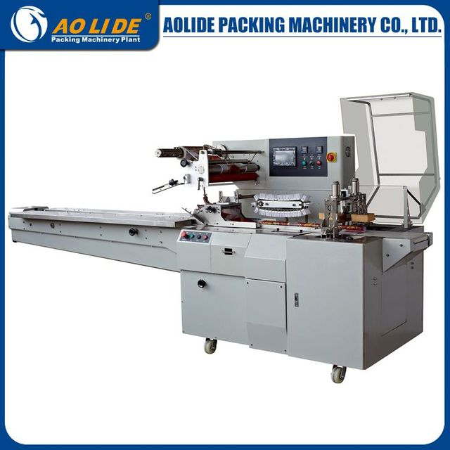 Human machine interface PLC automatic chestnut packing machine