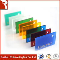 rpoa factory direct sale 100% virgin pmma flourescent acrylic sheet competitive price