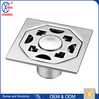 Bathroom shower stainless steel strainer floor decorative drain covers