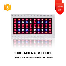 ramadan decoration full spectrum 300w led grow lights solar panel system