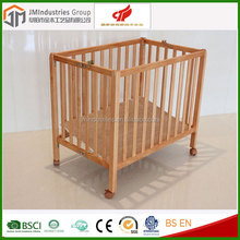 China Manufacturer Wholesale foldable baby cot