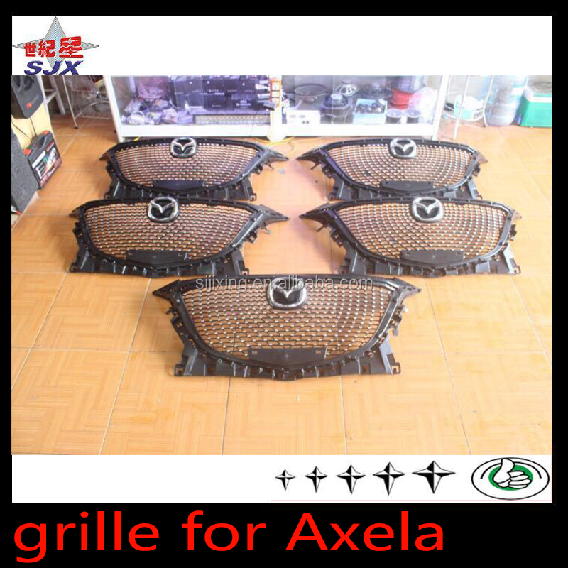 Auto star grille for Mazda 3 AXELA with electroplated star