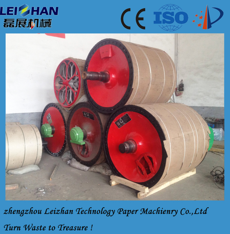 Dryer cylinder of Yankee type for paper factory