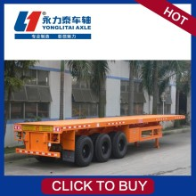 40ft container tri-axles low bed semi trailer (light)