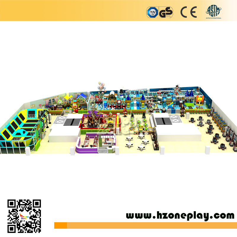 Big Kids Indoor Play Center One-Stop Solution Playground Equipment for Business