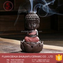 Creative Small Buddha Incense Burner Use In The Home /Office/ Teahouse