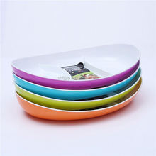 Promotional units heat resisting breakfast ware lunch plate kid infant dish