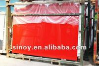 SINOY RED LACQUERED GLASS