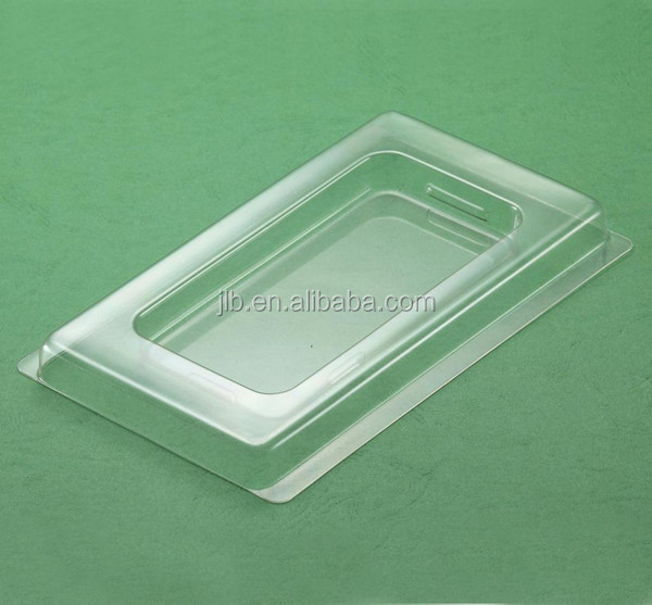 Factory directly supply clear cell phone case blister packaging
