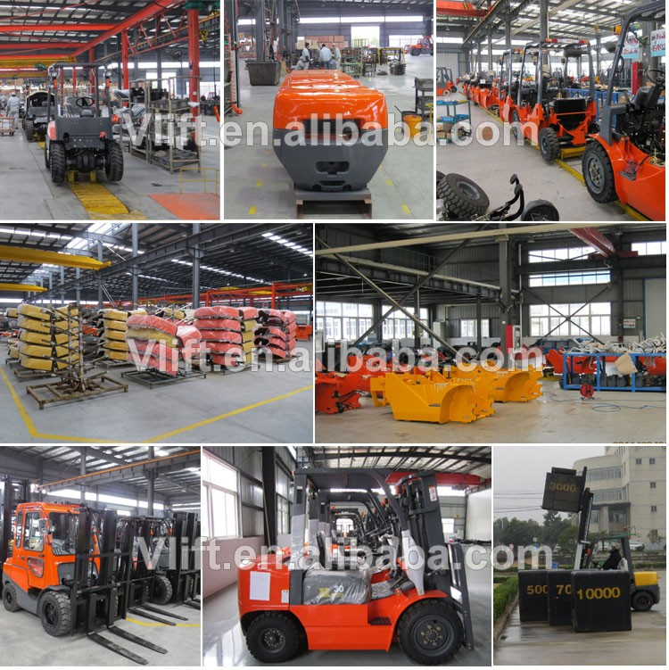 2 ton forklift electric truck lifting height 3000mm