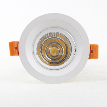 5w led cob downlight spotlight with CE TUV Rohs BIS