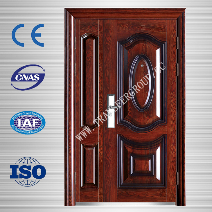 son and mother low price steel security door in china BT-S-95M