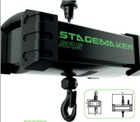 Safty SR 1T STAGE MAKER electric chain hoist for entertainment industry lifting
