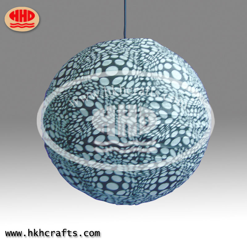 new style bule color paper Lantern use for festival decoration in rice paper /wedding decoration hanging paper crafts
