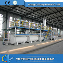 Pyrolysis Oil Distillation Plant Scrap Tire Pyrolysis Plant Tyre Making Machine