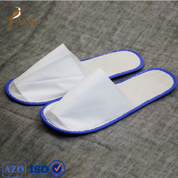 2016 low price non woven hotel use disposable slippers
