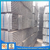 Hot selling rhs/shs galvanized steel pipes factory with low price