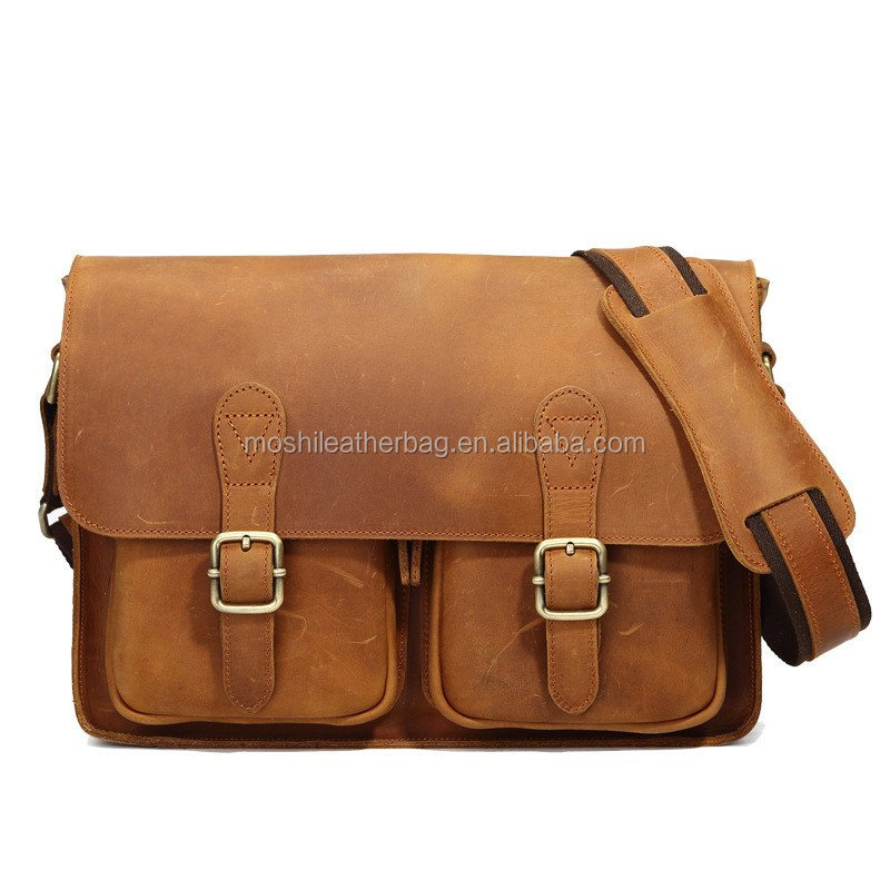 Leather Messenger/ Work Bag/ School Bag/Briefcase