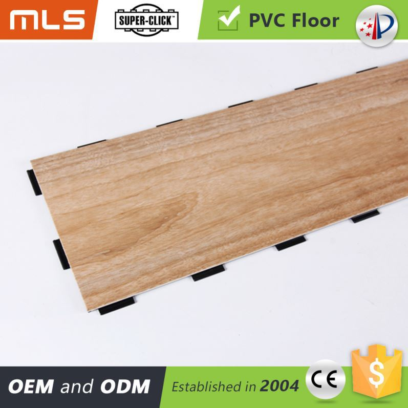 Good Prices Wood Like Click Pvc Portable Basketball Court Sports Flooring