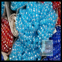 Pujiang Crystal Beads Manufacturer Factory Loose Glass Beads Round Rondelle Bicone Beads Wholesale