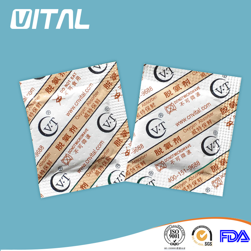 20 cc oxygen absorbers food grade with fda&msds/chemical food preservative/desiccant silica gel/indicator
