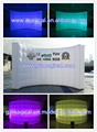 LED air inflatable wall partition room divider