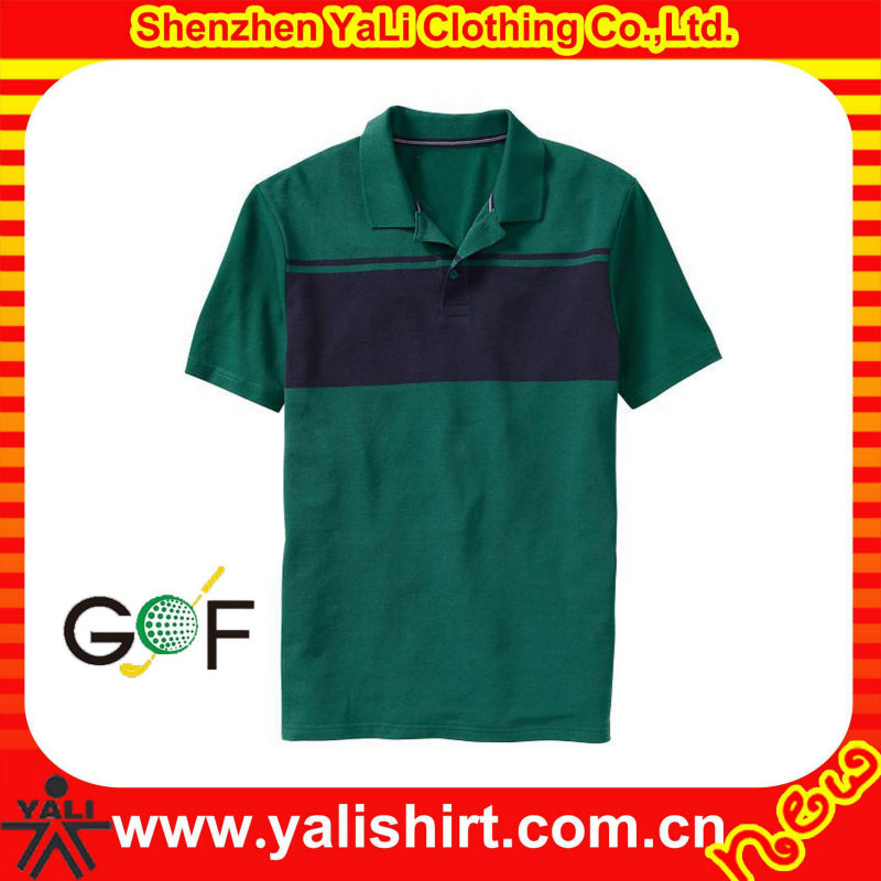Custom xxxl golf shirts with pockets for men,sublimation China