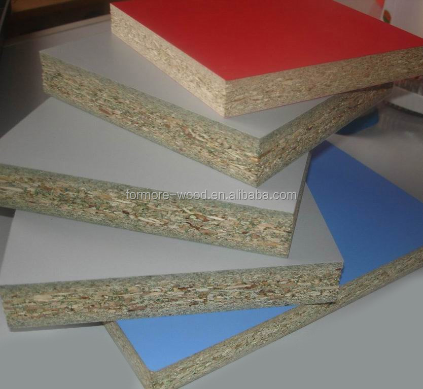 melamine faced particle board/melamine coated particle board