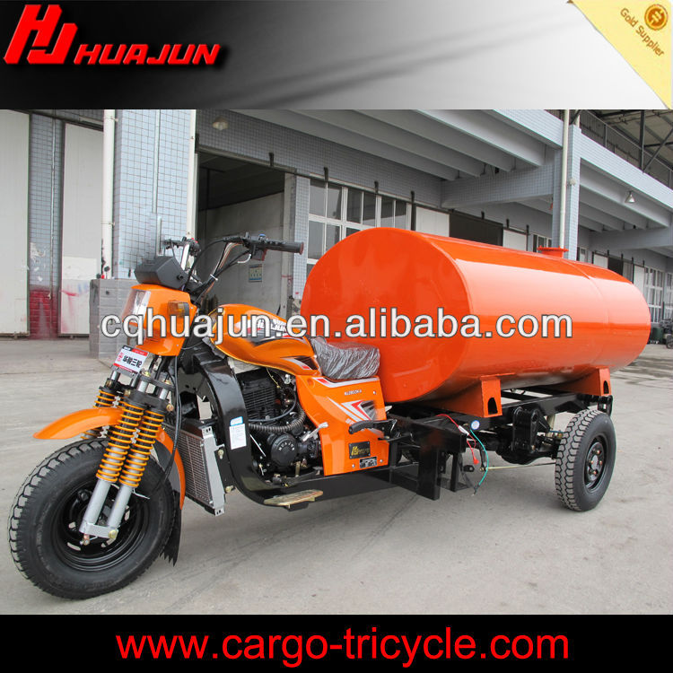 Chongqing Water Tank cargo Tricycle for Africa Market