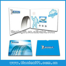 Video greeting card electronic
