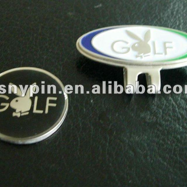 custom company logo golf crystal ball marker