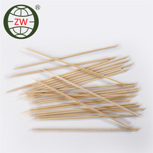 Hot sale round natural bamboo skewer stick